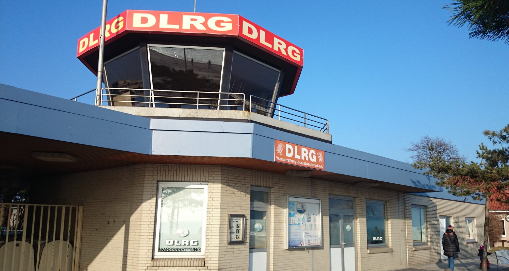 DLRG Wasserrettungsstation Grömitz